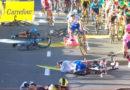 Завал на финише 1 этапа «Тура Польши»
